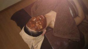 フェイシャル チョコレートパック