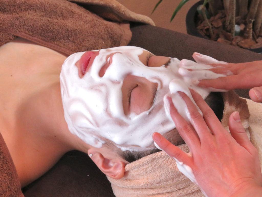 クレンジング 洗顔の工程