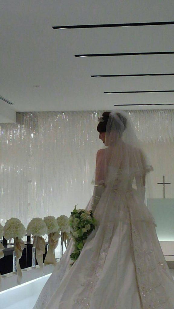 エステサロンマメールでブライダルエステを受けた花嫁様